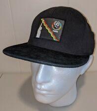 Puma BHM black hat cap snap back One Size snapback logo history  Tommie smith 68