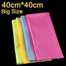 40x40cm Big Size Microfiber Cloth Lens Screen Camera Lenses Glasses Cleaner