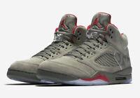 Nike Air Jordan Retro V 5 Camo Size 7-12 Dark Stucco University Red 136027-051