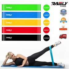 Resistance Bands Loop Exercise Sports Fitness Home Gym Yoga Latex Set