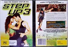 STEP UP 3 DVD region 2+4 PAL BRAND NEW oz seller