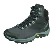 Merrell Thermo Cross Mid WP Men Winter Hiking Boots Mountain Walking Shoes Black