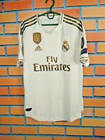 Real Madrid Jersey Authentic 2019 Home SMALL Shirt Football Adidas DW4436