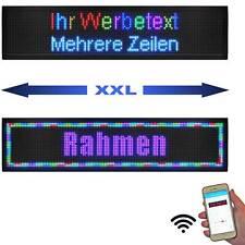 Große LED-Laufschrift 168x40 cm RGB WiFi XXL Lauftexte LED-Display Multicolor