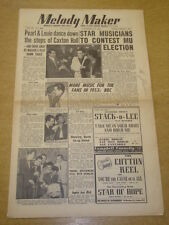 MELODY MAKER 1952 NOVEMBER 22 PEARL BAILEY LOUIE BELLSON MUSICIANS UNION BBC +