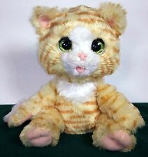 2017 Hasbro FurReal Cuddlin Cara Interactive Kitten Cat - Purrs, Closes Eyes
