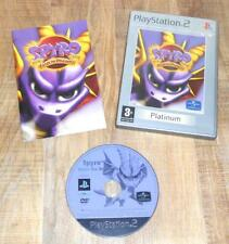 Spyro Enter The Dragonfly Platinum Label 2003 Sony Playstation PS2 PAL VGC