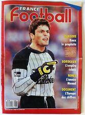 France Football du 24/01/1989; Bordeaux/ Nimes et Menad/ Roux le prophète