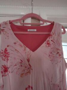 Berkertex dress size 18 NWOT. Dusky Pink, Lined, Bias cut Wedding guest, cruise