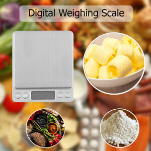 0.01g-3000g Small Pocket Digital Gold Weighing Pans Scales for Food Jewellery
