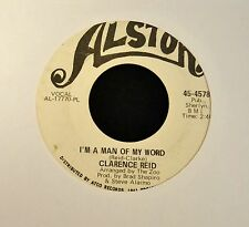 Clarence Reid Alston PROMO 4578 I'm A Man Of My Word