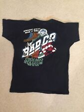 VINTAGE BAD COMPANY CONCERT SHIRT 1979 CHICAGO AMPITHEATER