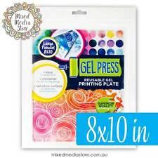 NEW GEL PRESS Gelli Plate/Gelli Printing Plate 8×10 in FAST POST!