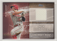 2020 Topps Series 1 NICK SENZEL Major League Material Relic REDS Gold /50 MLM-NS