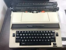 VINTAGE 1982 BROTHER SUPER 7300 PORTABLE ELECTRIC TYPEWRITER + CASE HEAVY