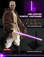 In-Stock Toys Works 1/6 Scale TW005 Saber Mace Windu 12in Action Figure