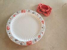 LARgE Bergschrund SEATTLE Crab Shell Lobster Serving Dish Platter Plate + Bowl