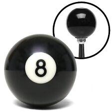 8 eight POOL BILLIARD BALL custom GEAR SHIFTER SHIFT KNOB car lever black