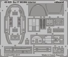 EDUARD 49829 Interior for KittyHawk Kit Su-17M3/M4 in 1:48
