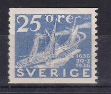 Schweden 1936 postfrisch MiNr. 231  300 Jahre Schwedische Post