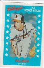 1982 Kellogg's 3-D Super Stars Jim Palmer #42 Baltimore Orioles