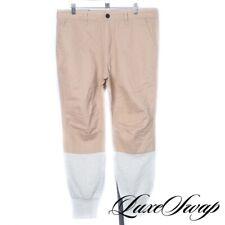 #1 MENSWEAR Kith Dual Tone Camel Tan Twill Sweatpant Bottom Jeans 33 NR UNIQUE