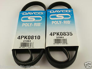 SUZUKI IGNIS FAN BELT KIT SUITS 4CYL DOHC W/ eng. M13A AND M15A 10/2000-02/2005