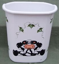 HP COW/IVY WASTE PAPER BASKET/NEW ITEM BY MB