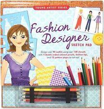 USED (LN) Fashion Designer Sketch Pad (Fashion Sketch Kit) (Young Artist (Peter