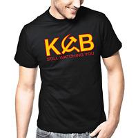 KGB UdSSR Geheimdienst Russia Sprüche Geschenk Lustig Spaß Comedy Fun T-Shirt