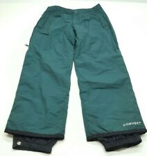 Columbia Convert Mens Ski Snowboard Pants Green Size Medium