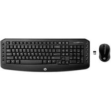 3Wireless Keyboard And Mouse Combo Optical Mouse Hp Wireless Classic Desktop New