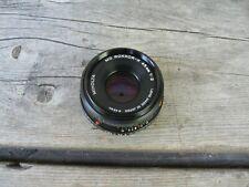 Minolta Md Rokkor-X 45mm f/2 Lens Tested