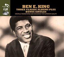 3 Classic Albums Plus Bonus Singles Audio CD Ben E King 5036408141422