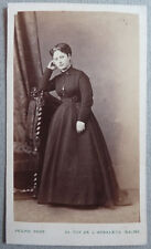 Photo Carte de Visite Cdv Ancienne Par Pesme Reims Paris Vers 1860