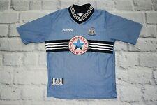 new castle jersey adidas shirt   men kit blue vintage star size M