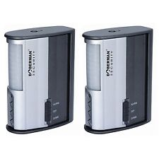 Doberman Security SE-0104-2PK Motion Detector Alarm/Chime - 2 Pack Silver/Black