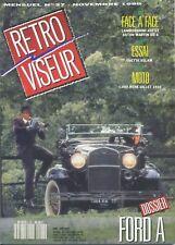 RETROVISEUR n°27 11/1990 LAMBORGHINI GT400 ASTON MARTIN DB6 ISETTA VELAM FORD A