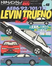 TOYOTA Levin & Trueno AE86/92/101/111 #2 Tuning & Dress Up Guide Book