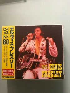 Elvis Presley Best Hits Japanese Import Box Set 3 cd's
