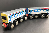 Wooden 2 Spinter Trains Coaches Early Learning Centre Diesel Train