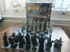 Harry Potter Woolworths  Wizard Chess Set Mattel 2002 Complete VGC