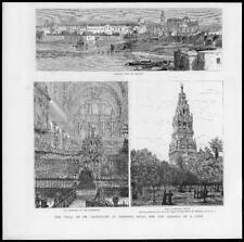 1888 Antiguo Impresión-España CORDOBA ensayo médico Middleton asesinato Gypsy (134)