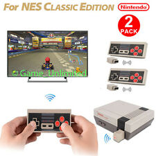 2 Packs Wireless Controller Gamepad for Nintendo NES Mini Classic Edition