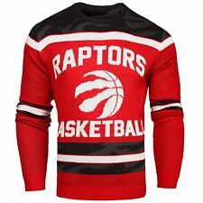 *NWT Toronto Raptors Glow in the Dark Ugly Christmas Sweater SMALL FREE SHIPPING