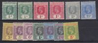 BC246) Gilbert & Ellice Is. 1912 set to 5/- fine mint hinged