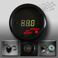 "boost gauge digital led psi 2"" ( 52mm ) green display ideal for dash panel pod"