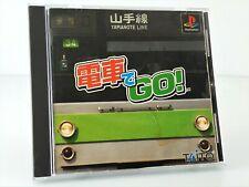 Densha De Go - Jeu Playstation PS1 JAP Japan complet (2)