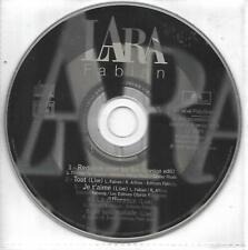 RARE CD COLLECTOR 5T LARA FABIAN LIVE REQUIEM POUR UN FOU AVEC JOHNNY HALLYDAY
