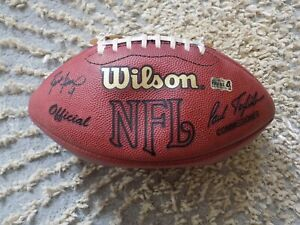 Green Bay Packers Brett Favre SIGNED Game Used NFL Football vs Buccaneers 2002